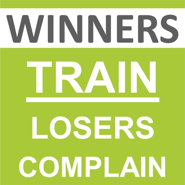Winners Train Losers Complain ohne WTLC