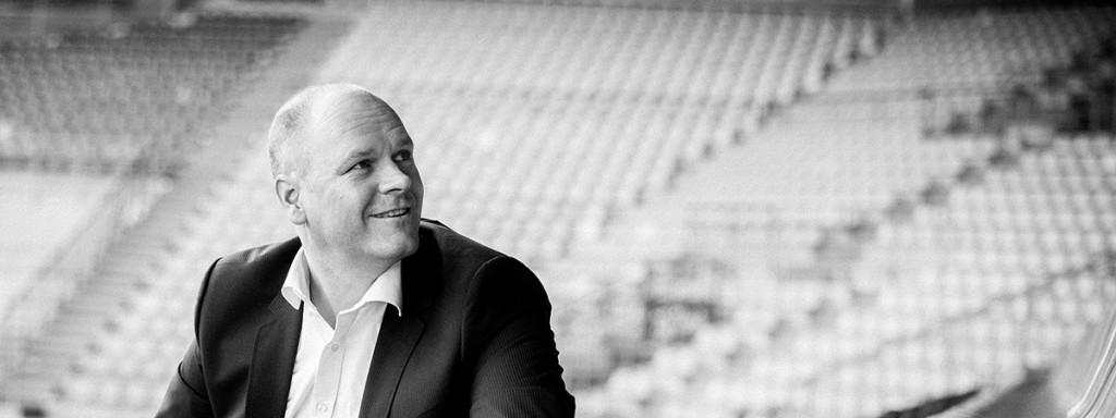 Dr. Holger Schmitz im Stadion