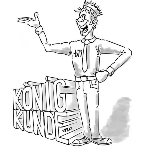 Kundenorientierte Führung - König Kunde - business elf - Managementberatung