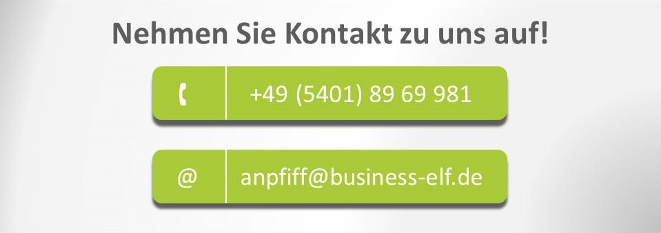 Chancen statt Probleme - Call to Action - business elf Managementberatung Unternehmensberatung