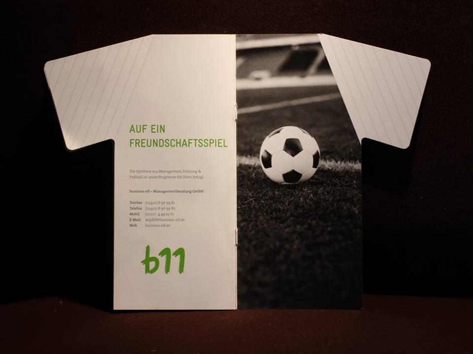 Broschüre business elf Managementberatung - Mitarbeiterführung
