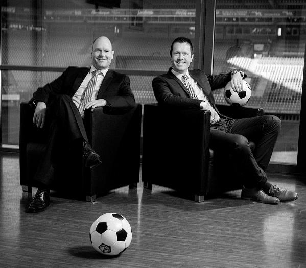 Dr. Holger Schmitz und Tobias Narendorf VIP