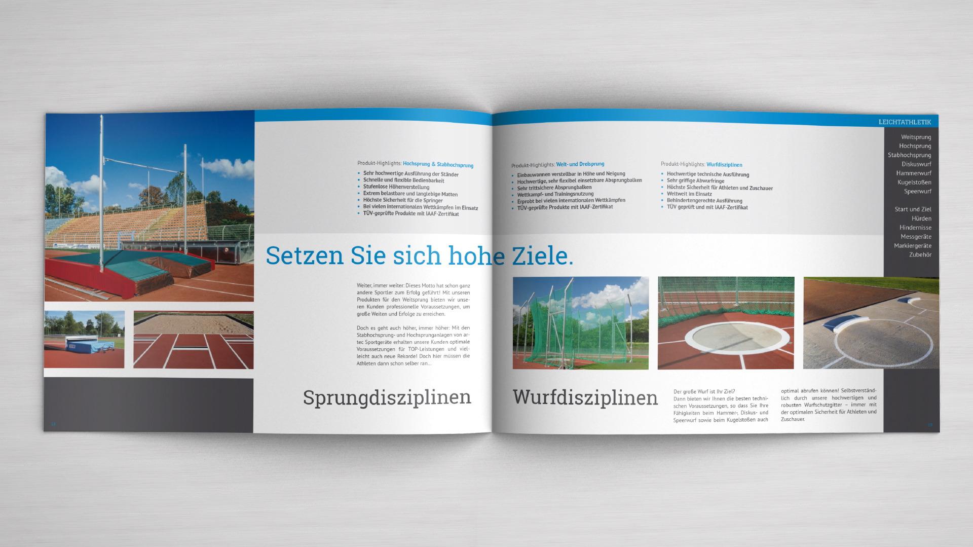 Imagebroschüre artec - keynotes Osnabrück