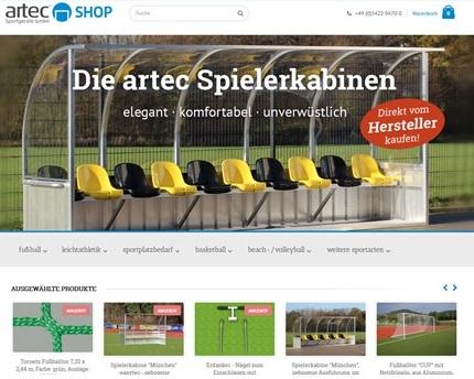 artec Sportgeräte online Shop