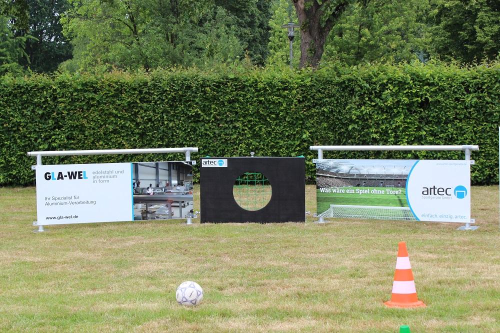 Mini goals beim Franz Grammann Cup