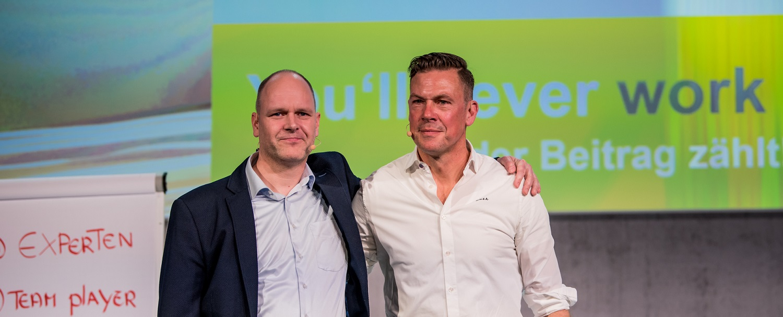 keynote YNWA Erik Meijer und Dr. Holger Schmitz im Impulsvortrag