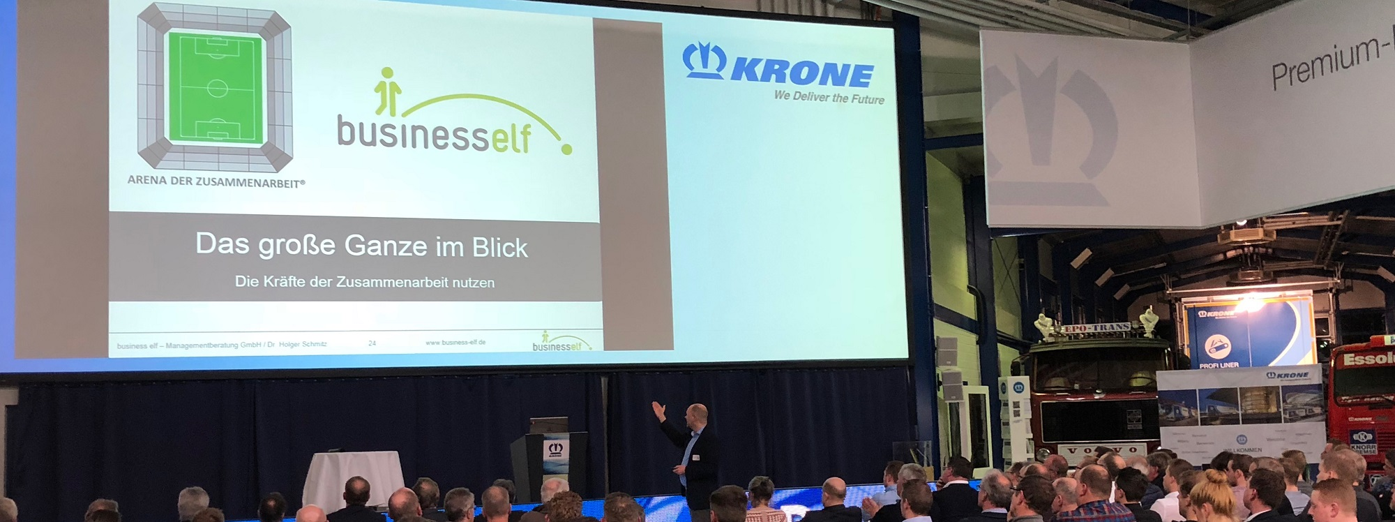 keynote speaker Dr. Schmitz Zusammenarbeit und Kooperation