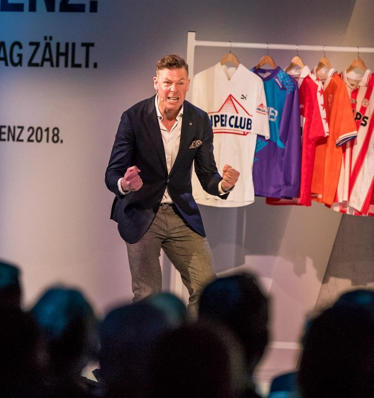 Führungsqualitäten im Fußball und Management mit Erik Meijer