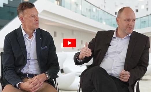 Führungsqualitäten im Unternehmen mit Vortragsredner Dr. Holger Schmitz und Erik Meijer