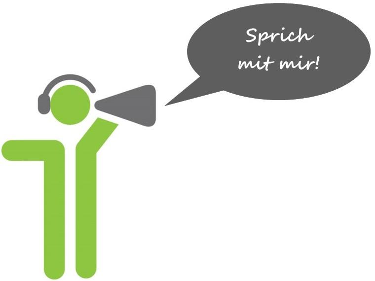 Kommunikation im Unternehmen - sprich mit mir