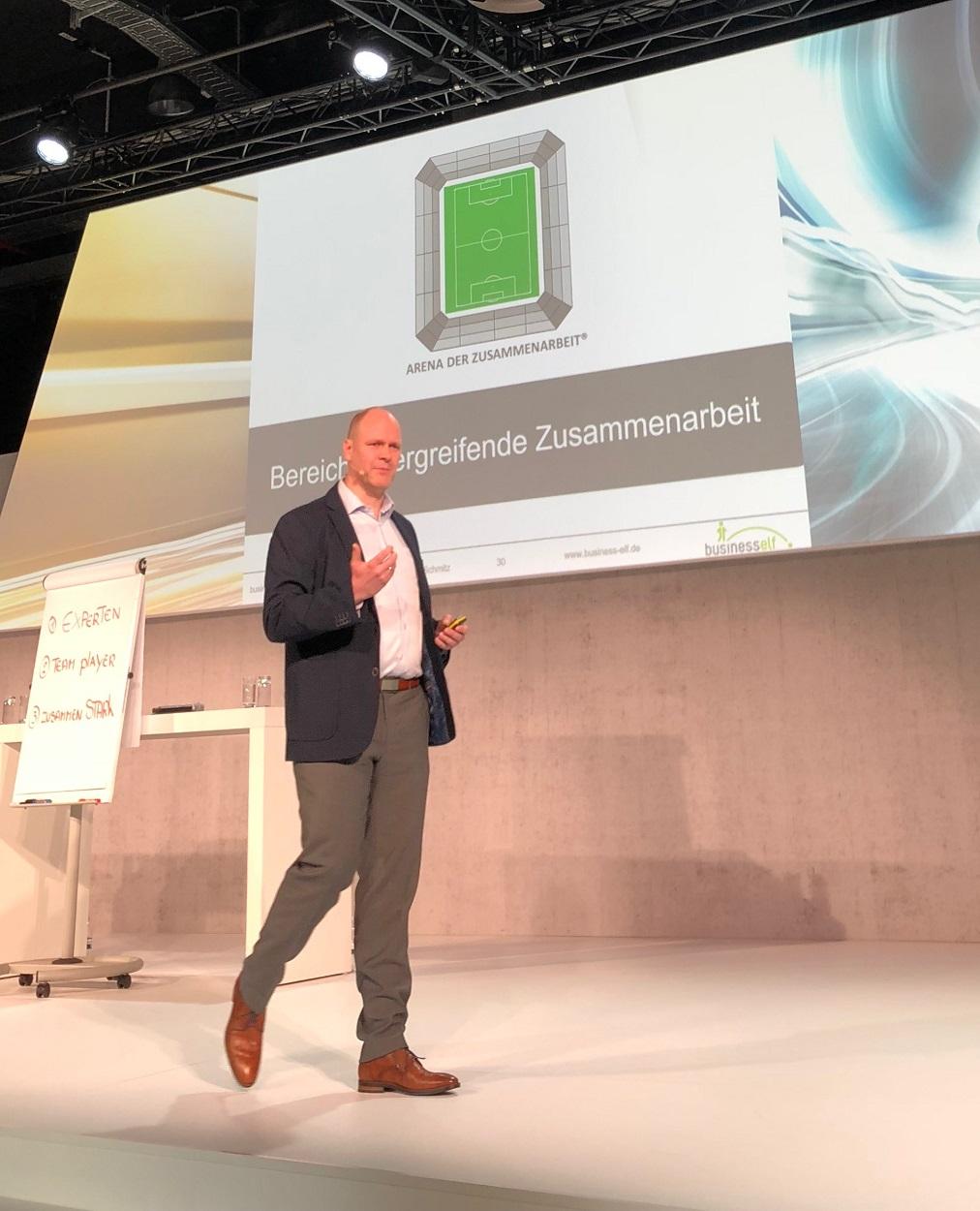 Impulsvortrag keynote Zusammenarbeit und Teamwork BMW