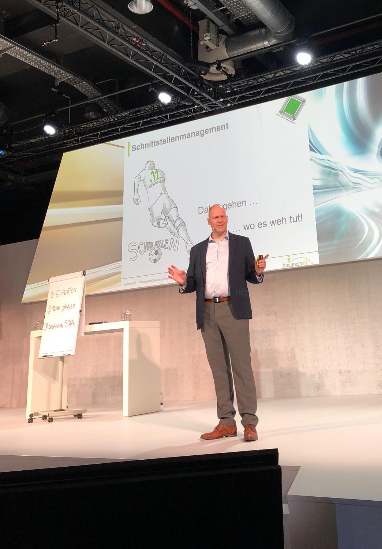 Impulsvortrag und keynote Zusammenarbeit mit Teamwork BMW