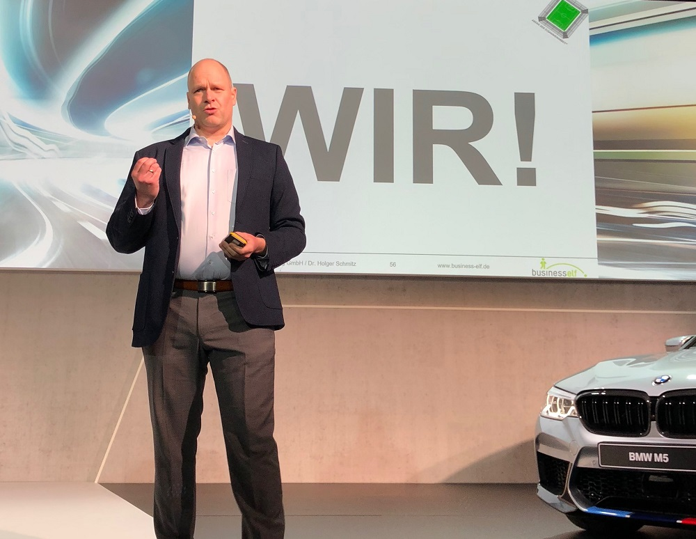 WTLC® Managertag mit keynote speaker Dr. Holger Schmitz