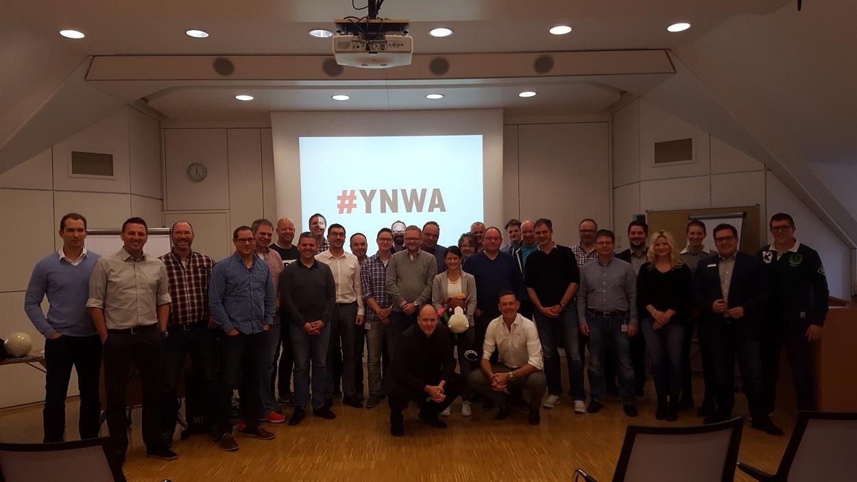 keynote YNWA - ARENA DER ZUSAMMENARBEIT im Unternehmen
