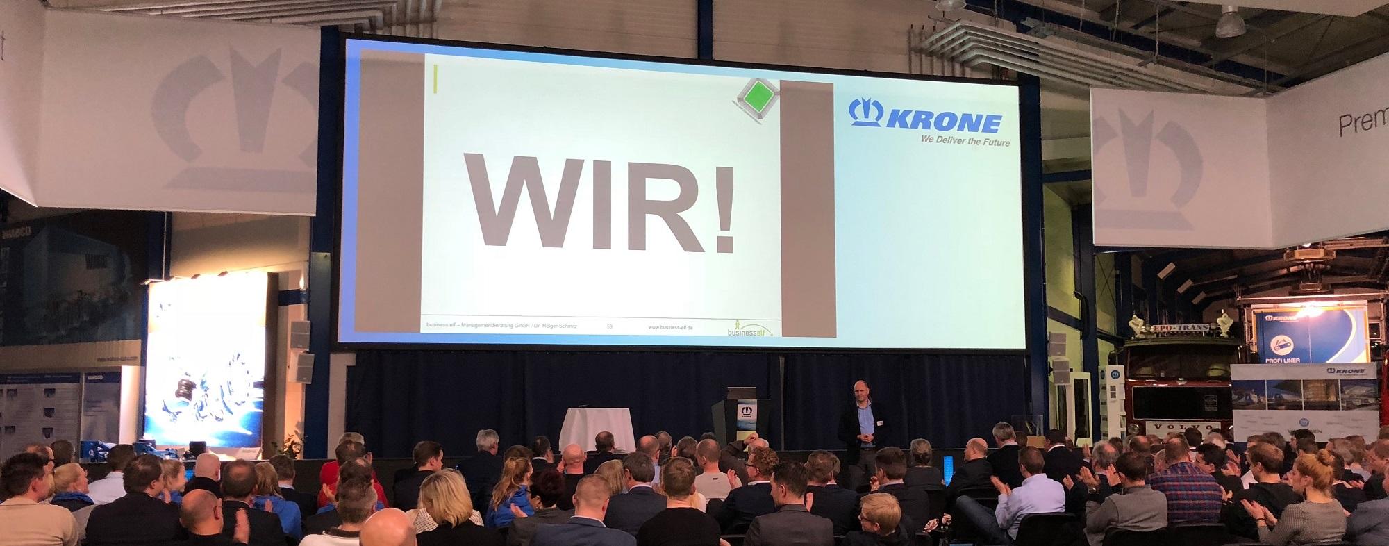 keynotes mit keynote speaker Dr. Holger Schmitz - Zusammenarbeit