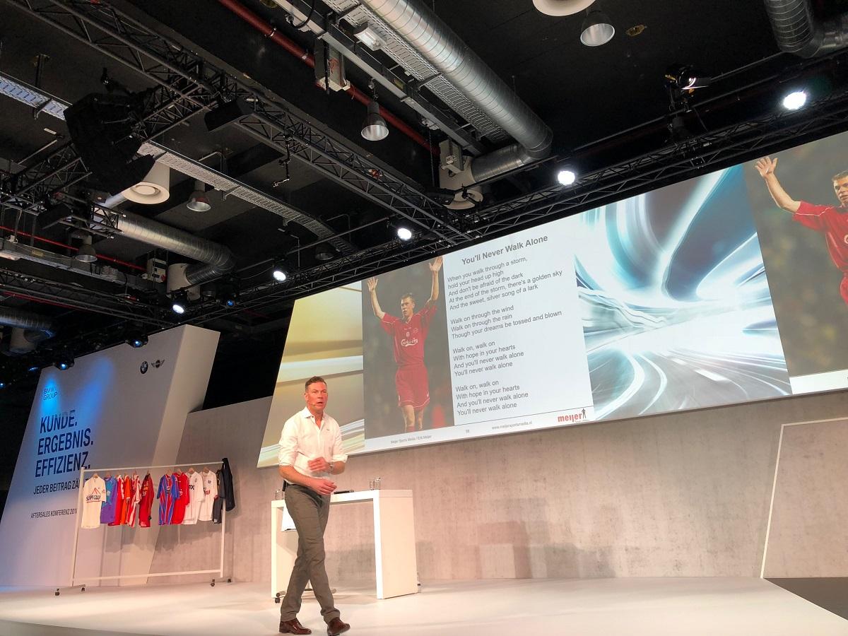keynote Impulsvortrag YNWA BMW Aftersaleskonferenz