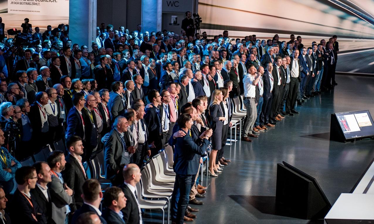 keynote YNWA BMW Aftersaleskonferenz Berlin 2018