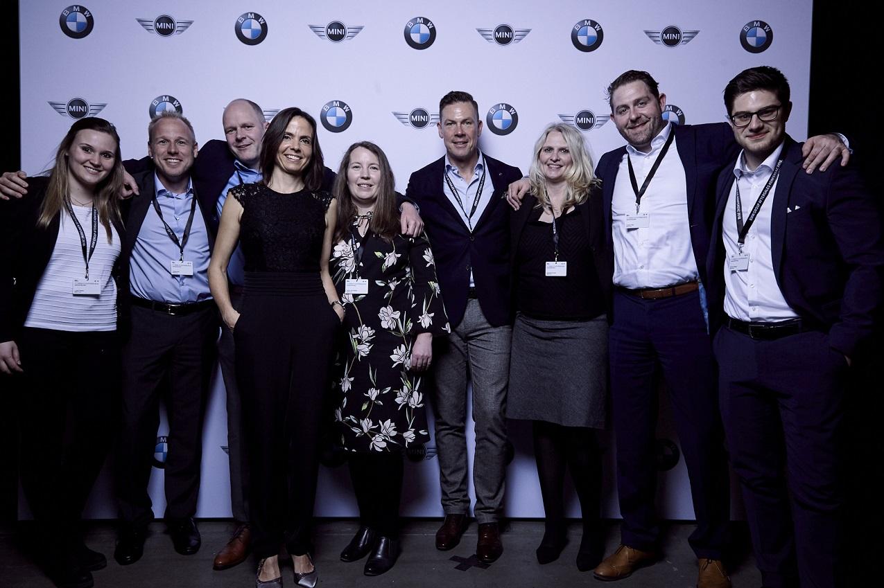 keynote YNWA bei BMW Aftersaleskonferenz BMW Orga Team