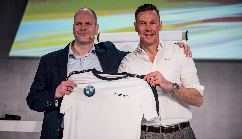 keynote speaker Dr. Holger Schmitz und Erik Meijer BMW Aftersaleskonferenz 2018
