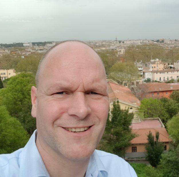 Moderation Global Management Summit in Rom mit Dr. Holger Schmitz