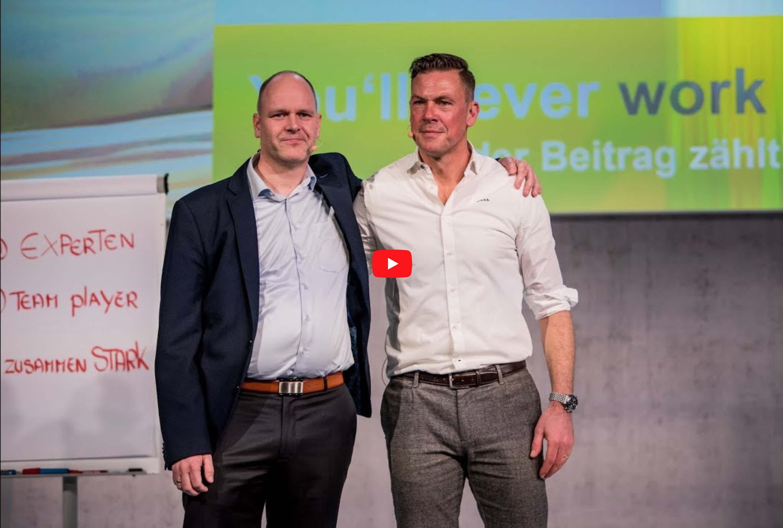 Keynotespeaker Dr. Holger Schmitz und Erik Meijer