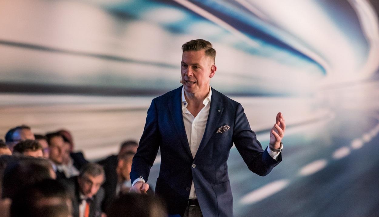 key note speaker Erik Meijer YNWA