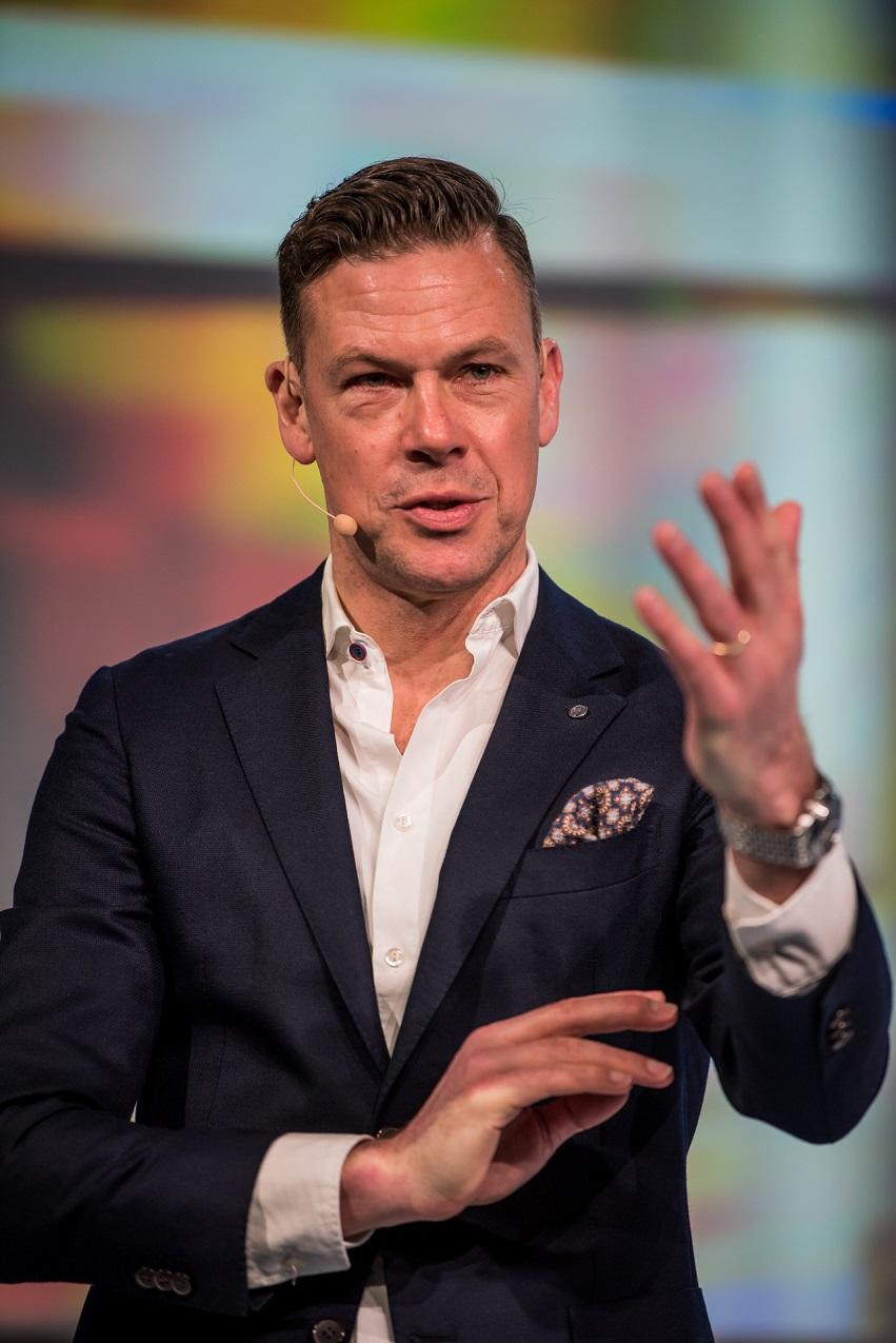 keynote speaker Erik Meijer und YNWA