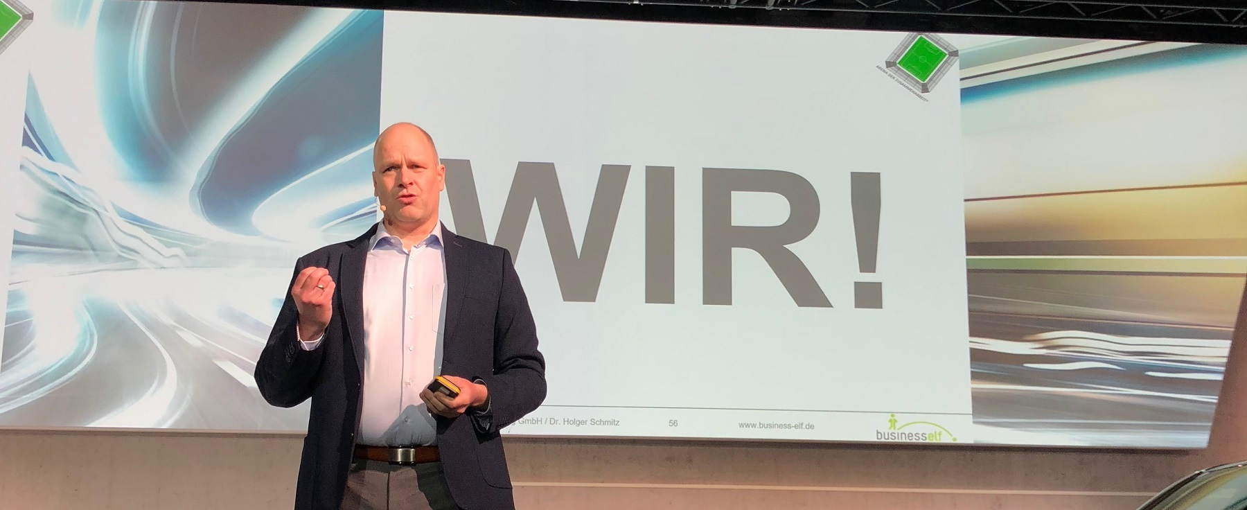 Leadership Experte und keynote speaker Dr. Holger Schmitz
