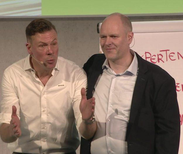 Vortragsredner Dr. Holger Schmitz und Erik Meijer