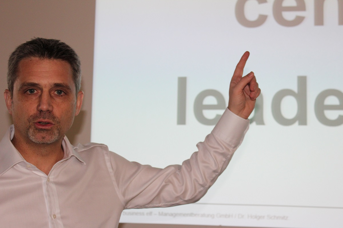 Leadership Experte und Keynote Speaker Frank Oette