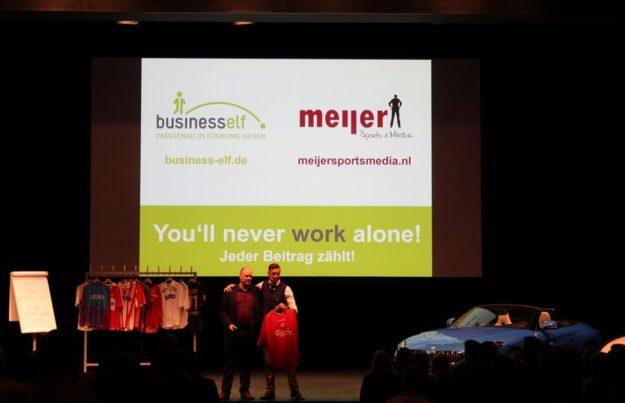You'll never work alone Keynote Zusammenarbeit