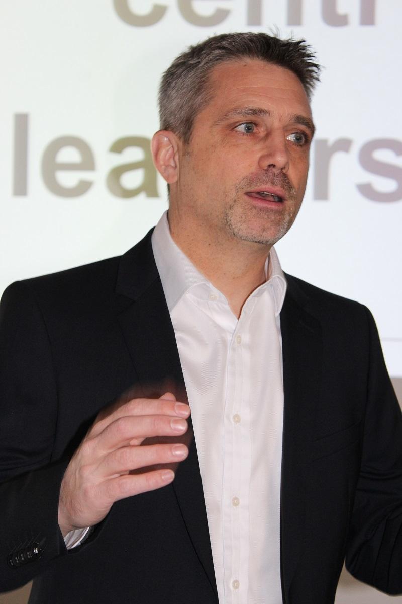 Leadership Redner Frank Oette live in der Keynote