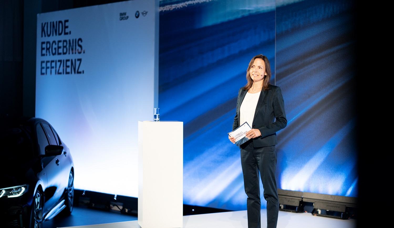 Moderation mit der Moderatorin Ursula Unger