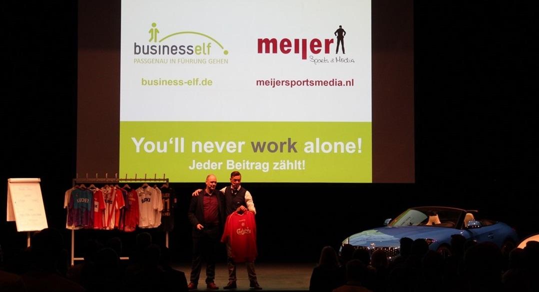 You'll never work alone und Zusammenarbeit organisieren