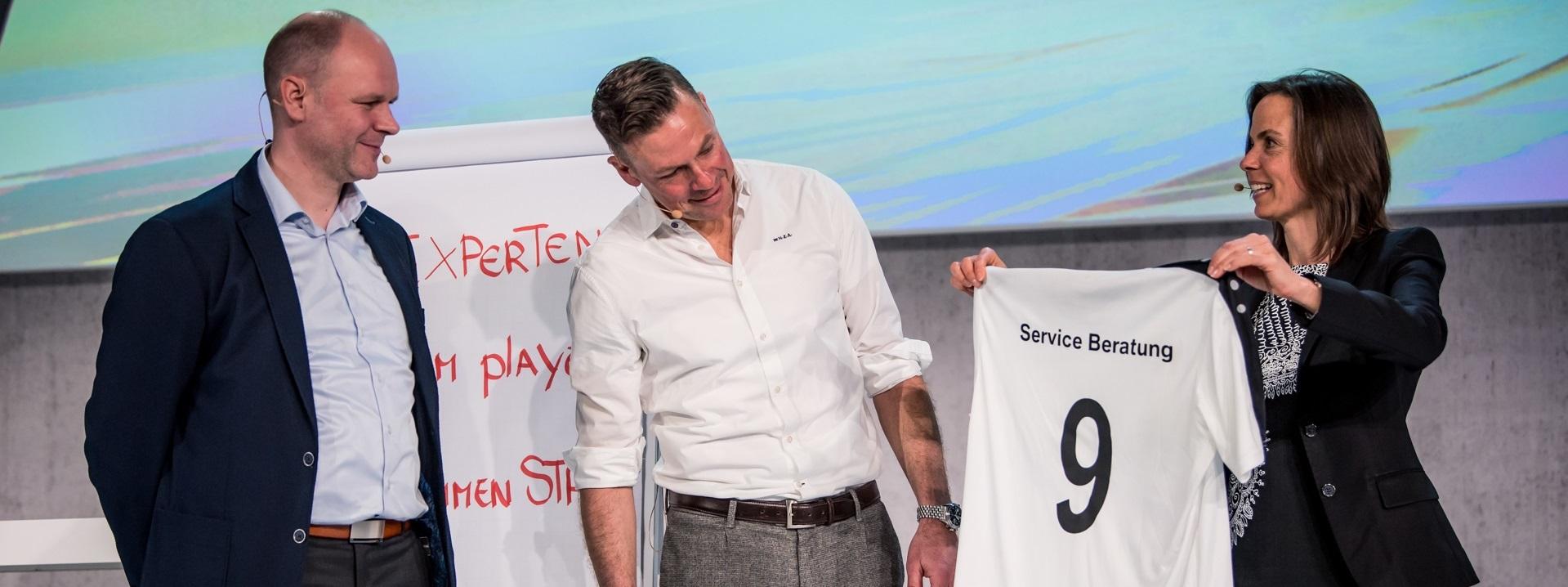 Key Note Speaker Dr. Holger Schmitz und Erik Meijer