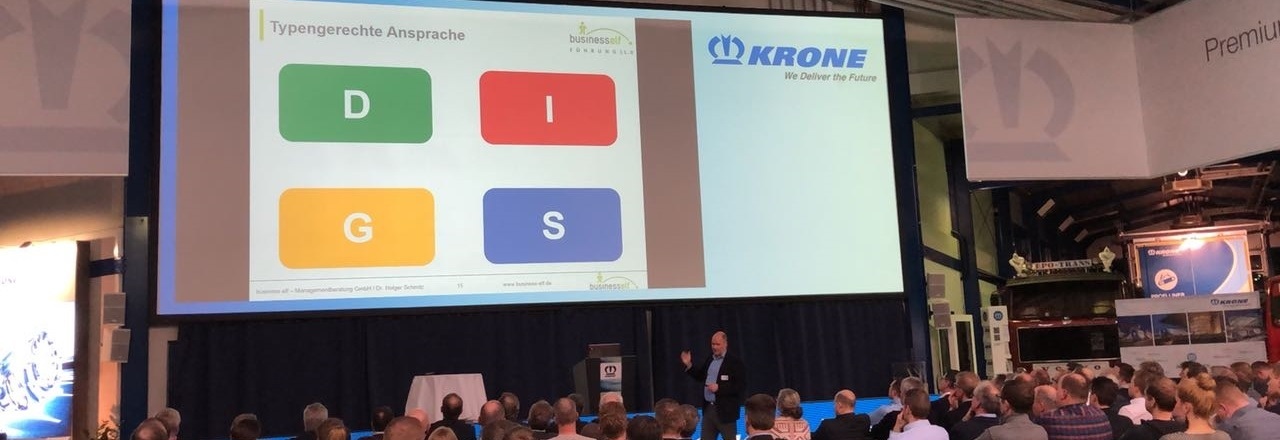 DISG Keynote Impulsvortrag mit Dr. Holger Schmitz