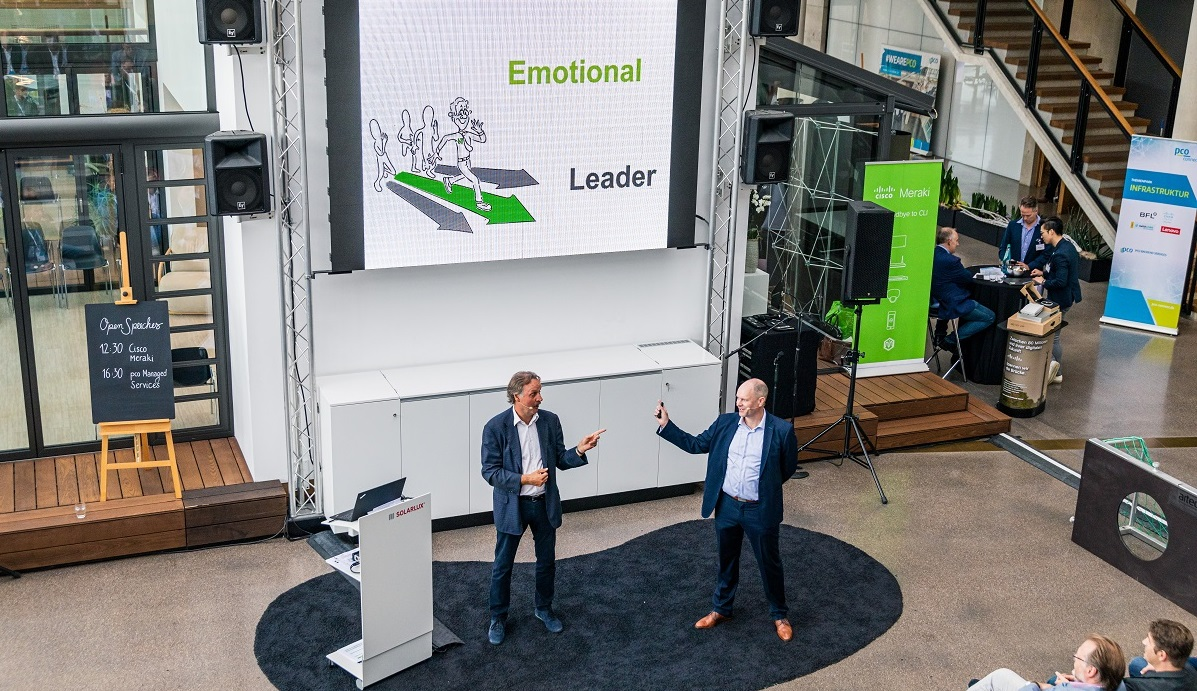 Keynote Logo im Herzen - Emotional Leader