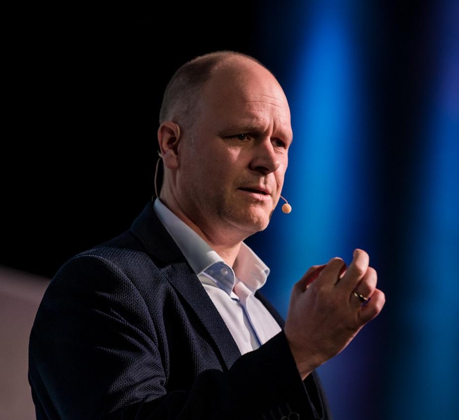 Leadership Keynote Speaker Dr. Holger Schmitz