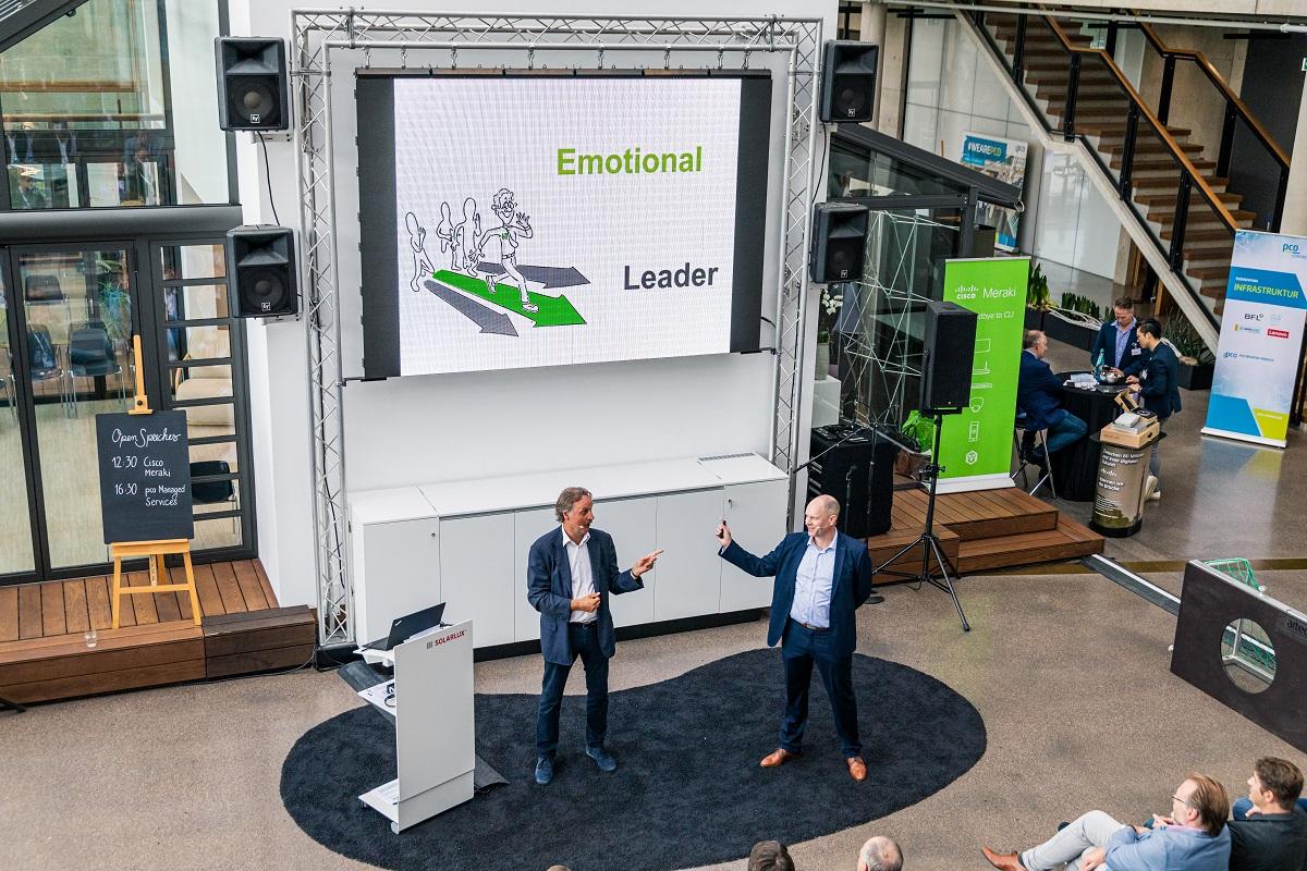 Ulf Masselink mit Kundenmeinung zur Keynote Das Logo im Herzen