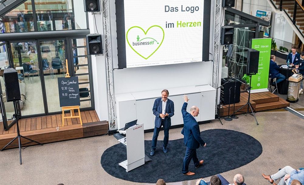 Keynote Das Logo im Herzen für starke Wertegemeinschaften