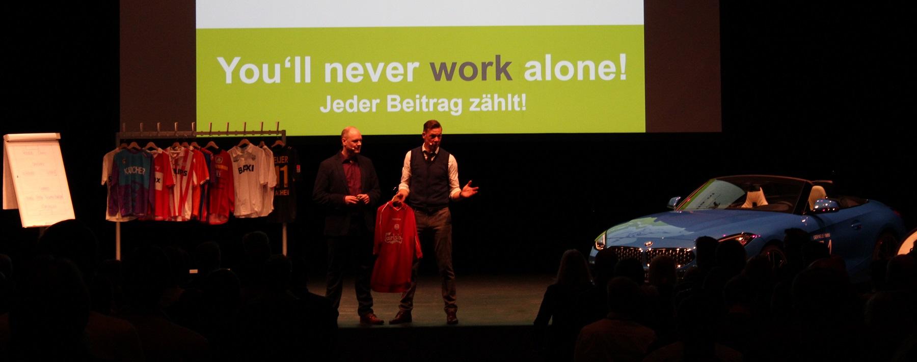 Keynote Speaker Dr. Holger Schmitz und Erik Meijer