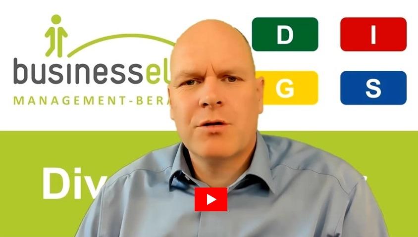 Diversity Power mit DISG - Dr. Holger Schmitz im Kurzvideo