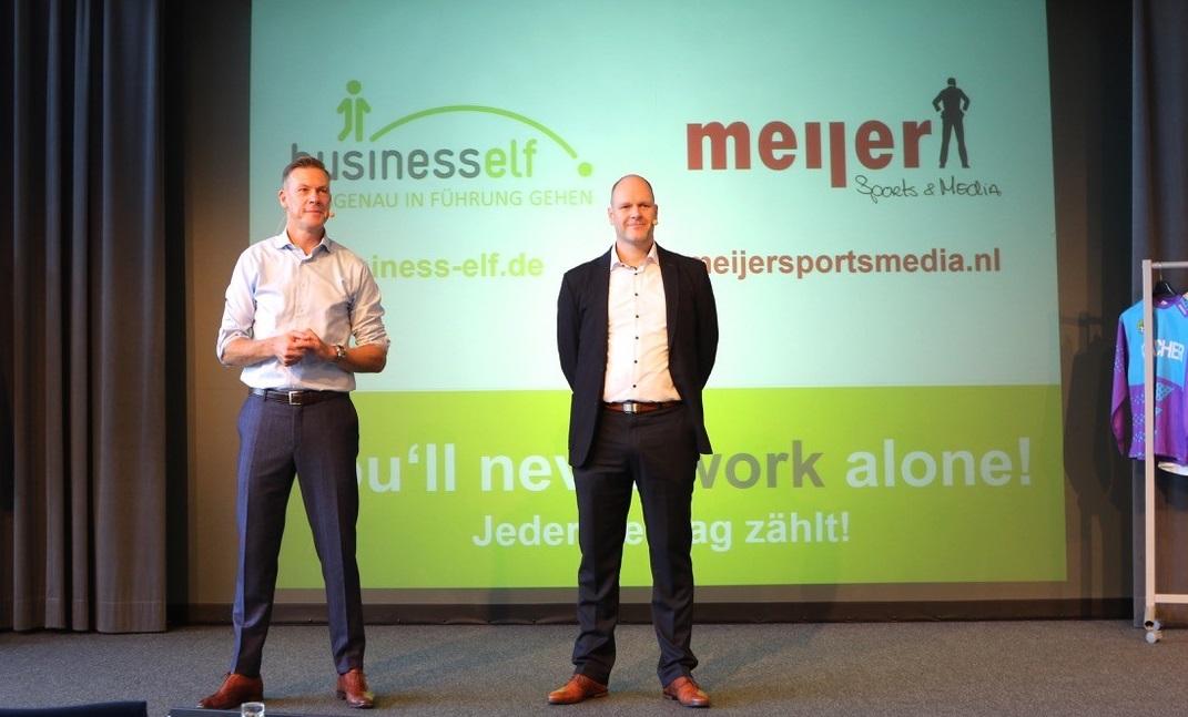 Diversity Speaker Dr. Holger Schmitz und Erik Meijer bei der e.on Führungskräftetagung