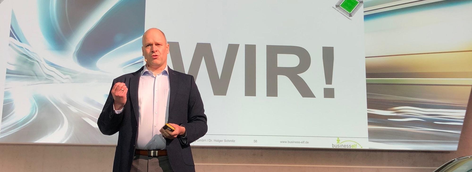 Keynote Speaker Dr. Holger Schmitz - Leadership und Teamwork