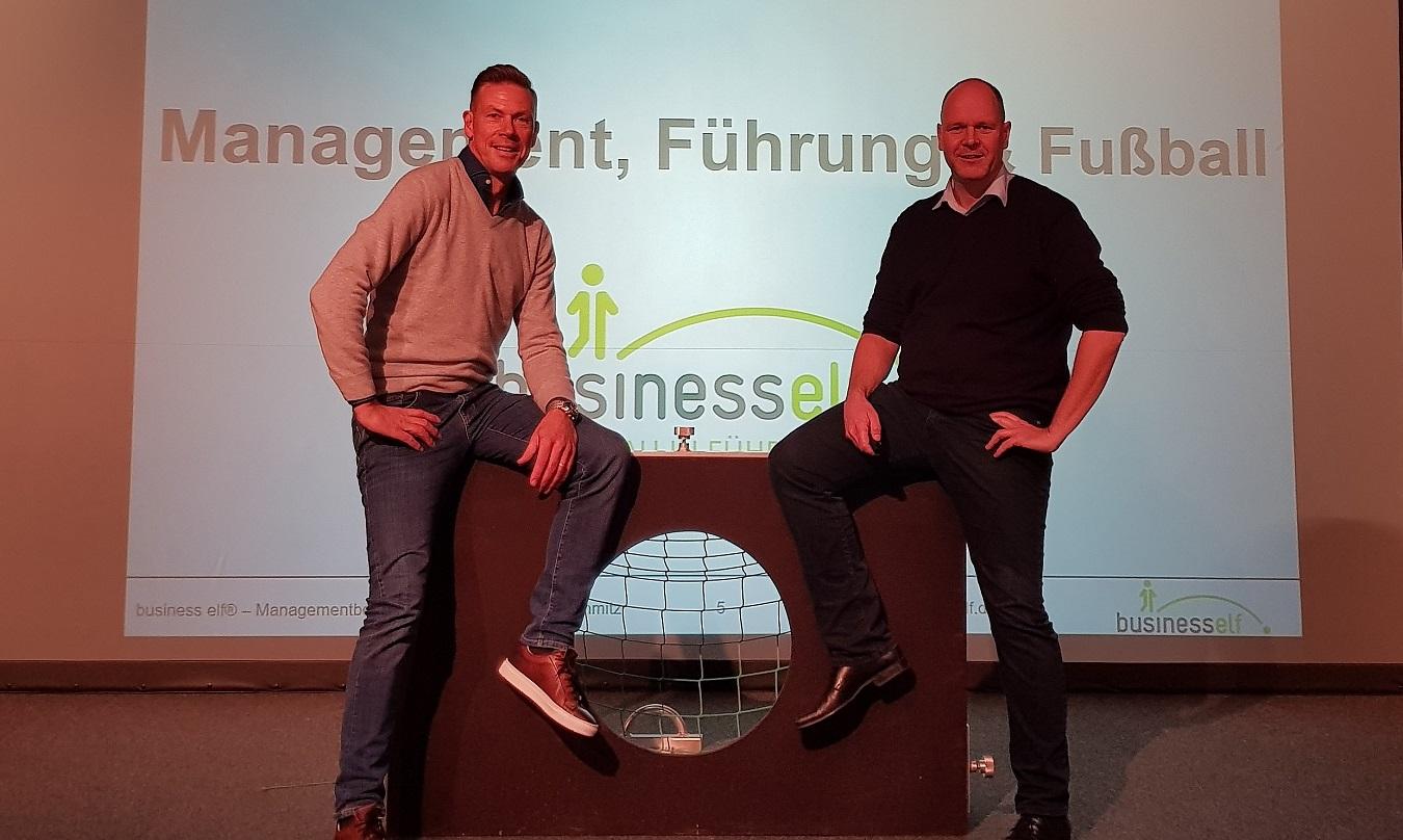 Keynote You'll never walk alone mit Erik Meijer und Dr. Holger Schmitz