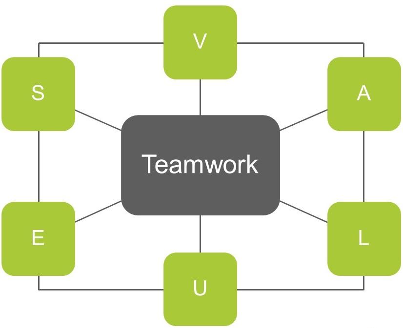 Leadership und Teamwork mit Führungskernwerten
