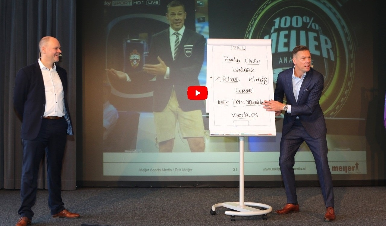 Führungsexperte Dr. Holger Schmitz mit Sky Experte Erik Meijer - Leadership & Teamwork